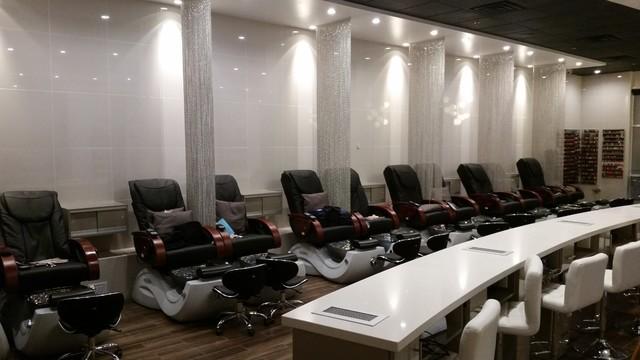 Desert Nail Salon Modern Phoenix By S S Custom Cabinets
