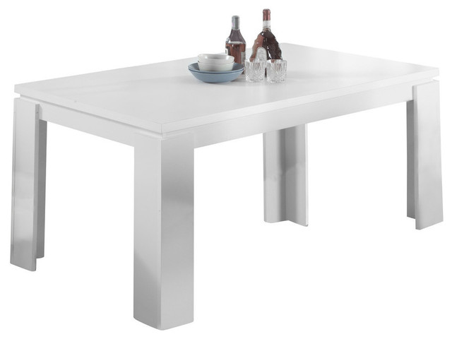 36 X60 Dining Table White