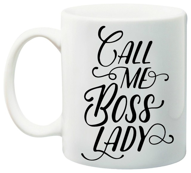 Call Me Boss Lady Coffee Mug