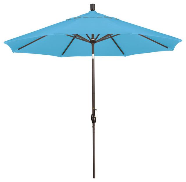 Phat Tommy Aluminum Outdoor Patio Market Umbrella Contemporary