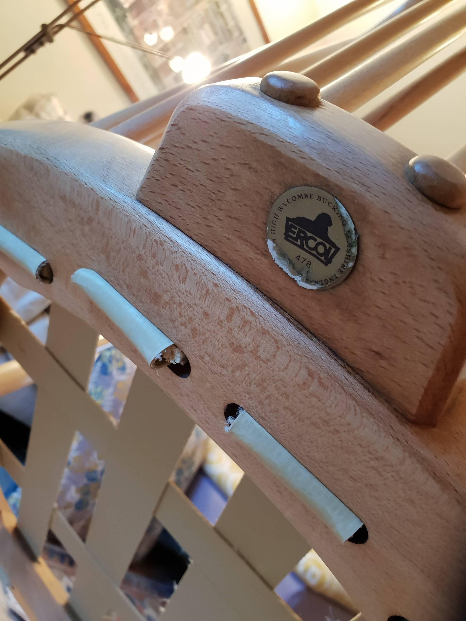 Ercol 478 armchair restoration