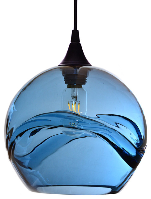 6fd249194a21 Swell Pendant Form No. 768 - Contemporary - Pendant Lighting - by Bicycle  Glass Co.