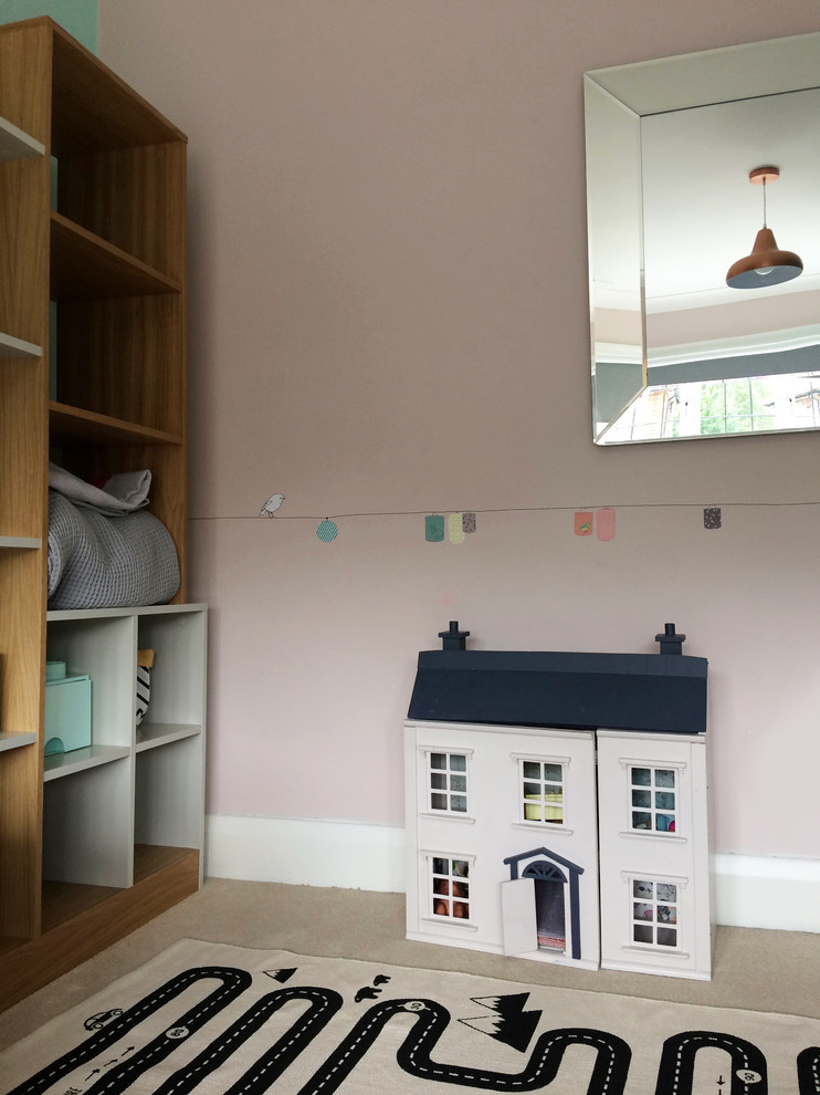 Changing an office into a playroom