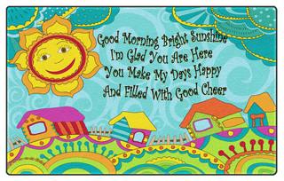 Good Morning Bright Sunshine - Contemporary - Kids Rugs ...