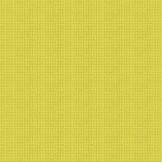 Citrus Yellow Solid Basketweave Outdoor Fabric