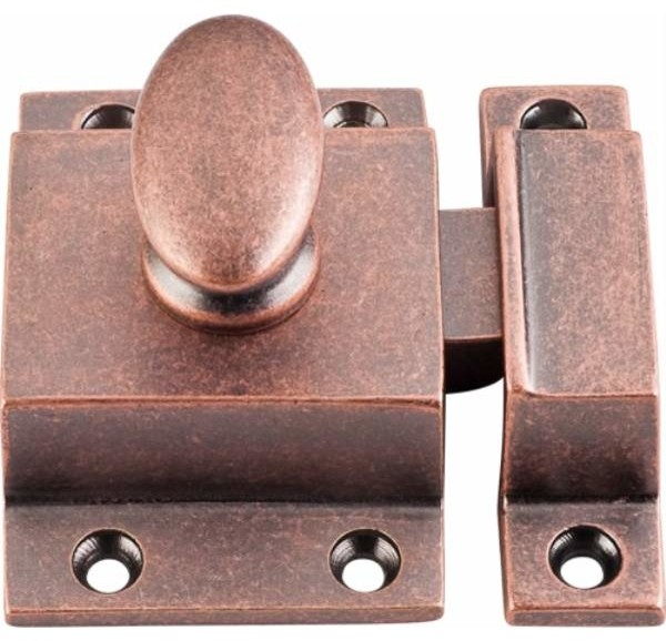 Top Knobs: Cabinet Latch 2 Inch - Antique Copper