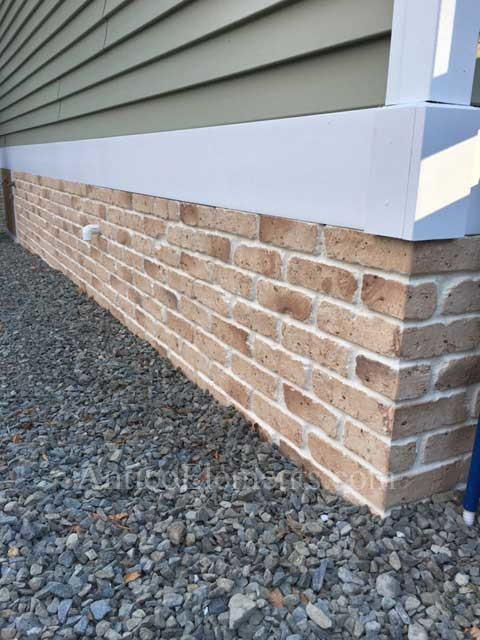 Faux Brick Panels For Foundation