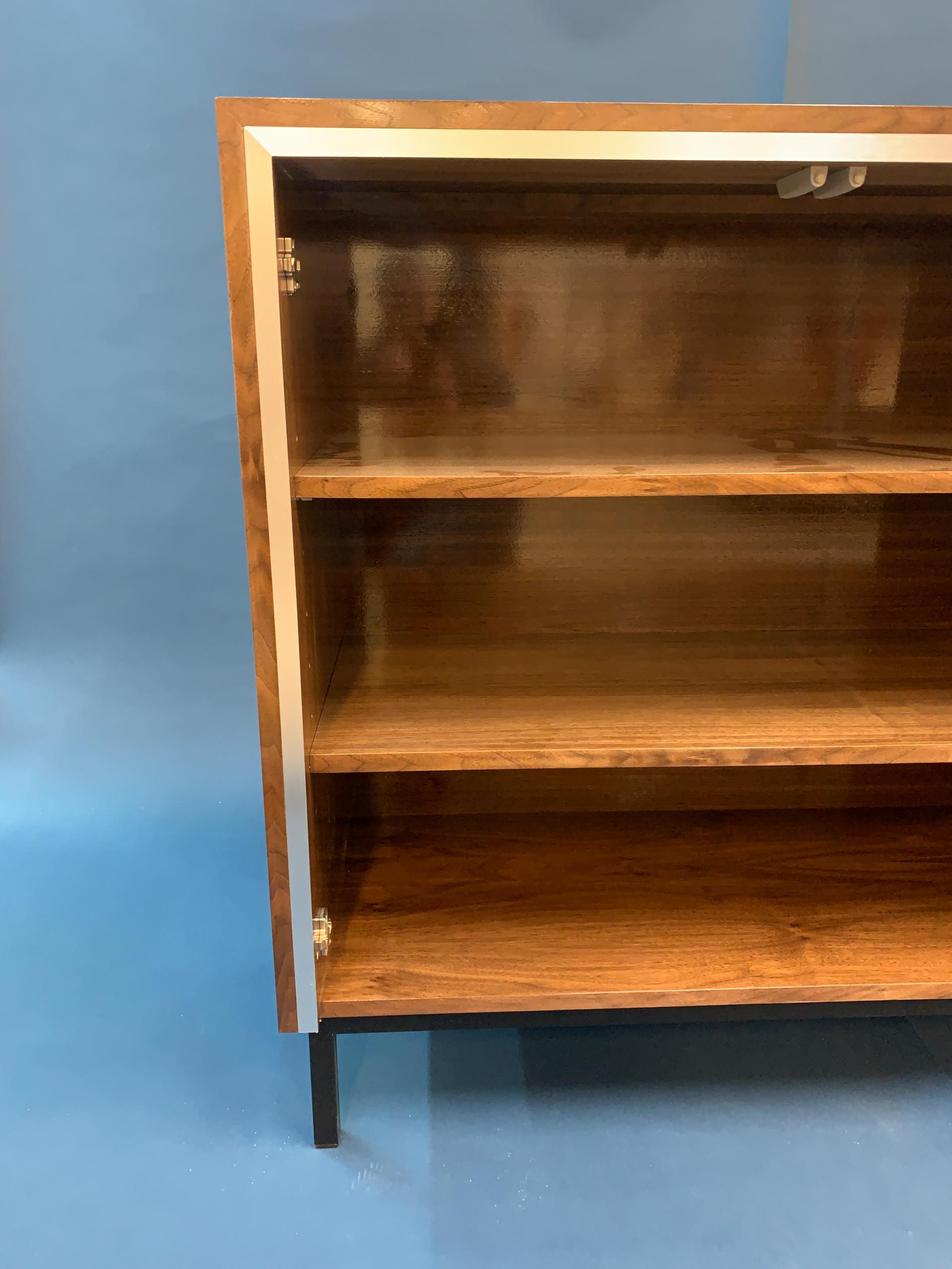 Bespoke Walnut storage unit
