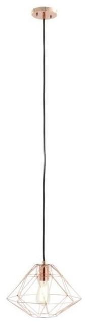 Yearwood Pendant, Copper.