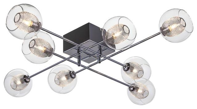 Estelle 8-Light Ceiling Fixture.