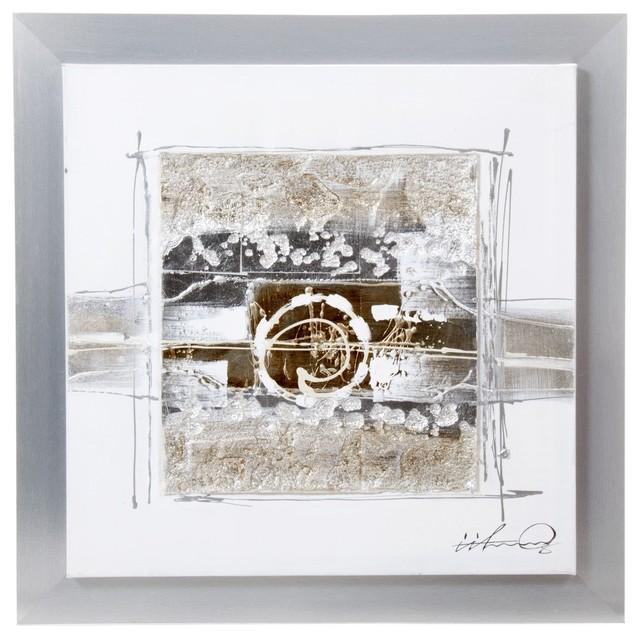 crumble peinture sur toile avec son cadre contemporain tableau d 39 art par alin a mobilier. Black Bedroom Furniture Sets. Home Design Ideas