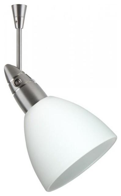 Besa Lighting Sp 185807 Sn Divi Directional Spot Light Satin Nickel Opal Matte