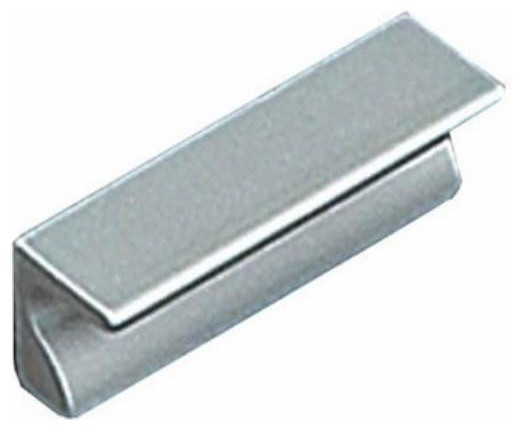 Richelieu Hardware Richelieu Contemporary Aluminum Edge Pull 32mm Aluminum - Cabinet And Drawer ...