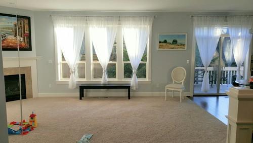No Furniture Living Room Blank Slate Living Room