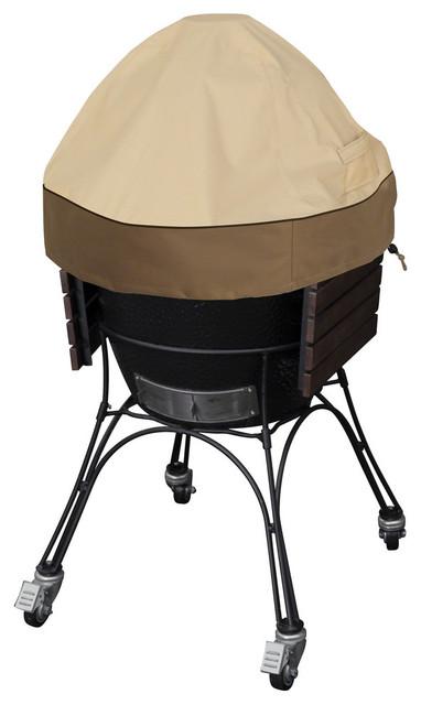 Veranda Ceramic Bbq Grill Dome Cover, Large.