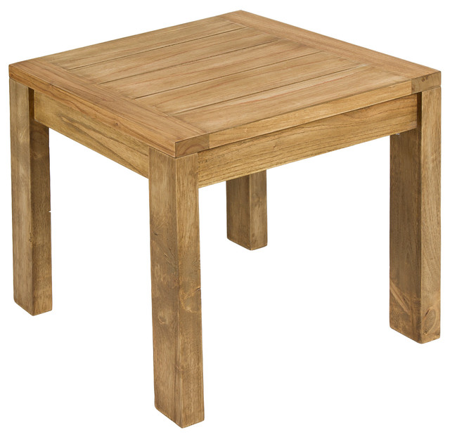 Mindi Wood Chicago Side Table rustic-side-tables-and-end-tables