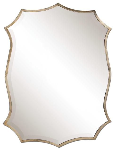 Uttermost Migiana Metal Framed Mirror.