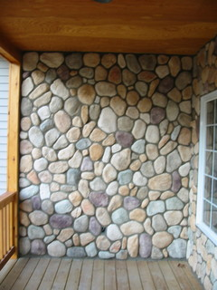 Boral Cultured Stone River Rock Traditional Detroit By Brighton Stone Amp Fireplace Inc