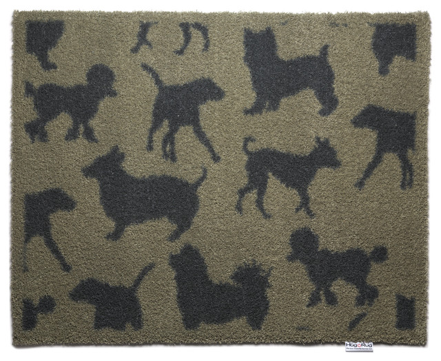 Multi Dog Doormat Contemporary Doormats