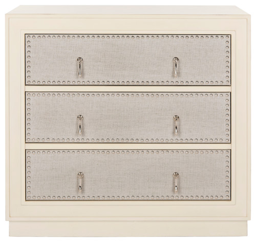 Safavieh Laputa 3-Drawer Chest, Antique Beige, Light Gray