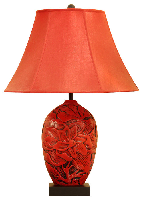 Lamp shade and lamp body for Asian furniture westmont il