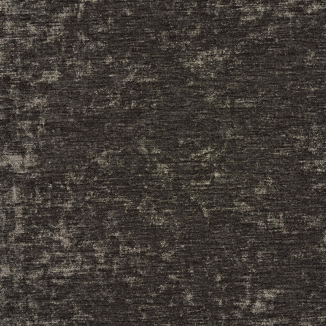 Dark Grey Solid Woven Velvet Upholstery Fabric By The Yard