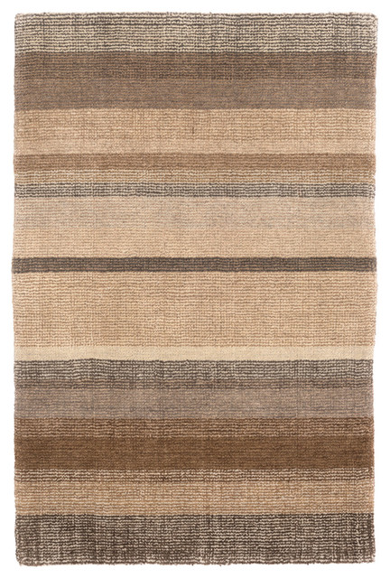 Dash And Albert Rock Hill Stripe Hand Knotted Rug