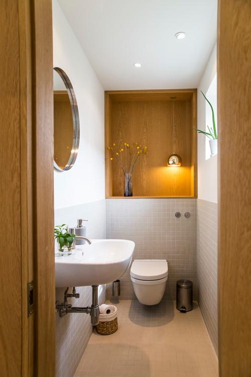 Renovering af lille toilet i hus fra 40-erne.