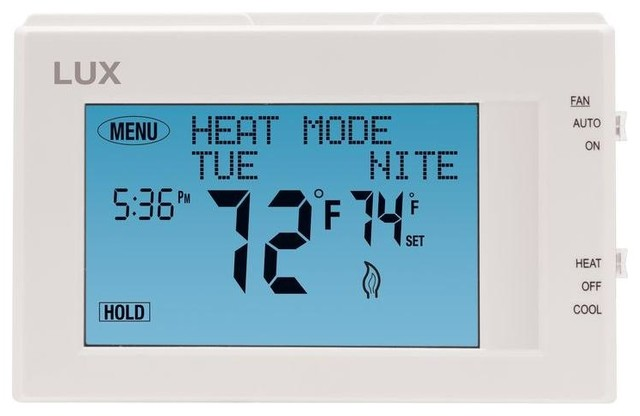 Lux® Tx9600Ts Universal 7-Day Programmable Touch Screen Thermostat