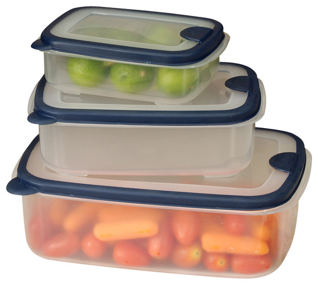 Shop Houzz Cookpro 6 piece Plastic Container Set With