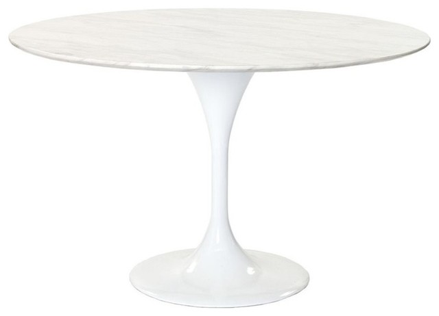 Lippa 48 Round Marble Dining Table