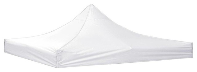 10&x27;x10&x27; Ez Pop Up Canopy Top Cover For Patio Gazebo Sunshade Tent, White.
