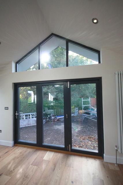 Bi Fold Doors Alu Clad Glazing Gable End