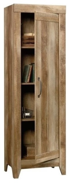 Pemberly Row Storage Cabinet, Craftsman Oak - Storage ...