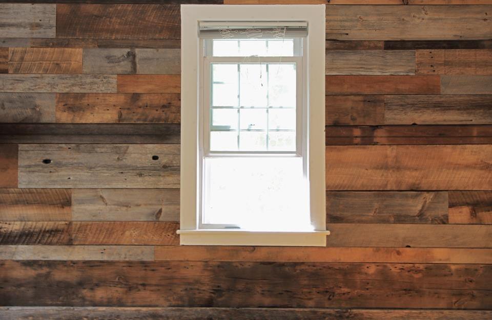 Barnboard wall covering