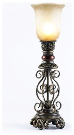 Scroll Uplight - Traditional - Table Lamps - by Kirkland's