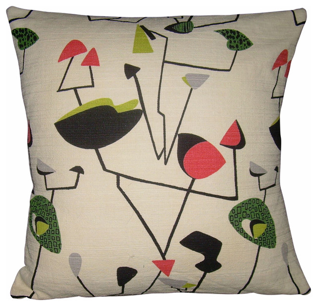 Atomic Pillow Cover.