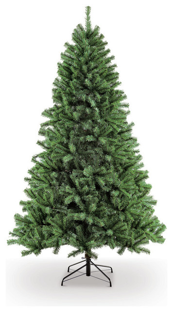01498c81aaeb3 7.5  Unlit Northern Fir Artificial Unlit Christmas Tree - Traditional - Christmas  Trees - by Puleo International