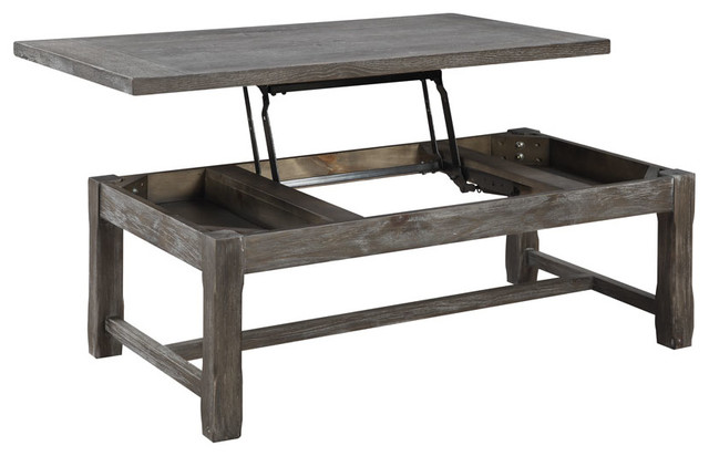 Paladin Lift Top Cocktail Table Rustic Coffee Tables