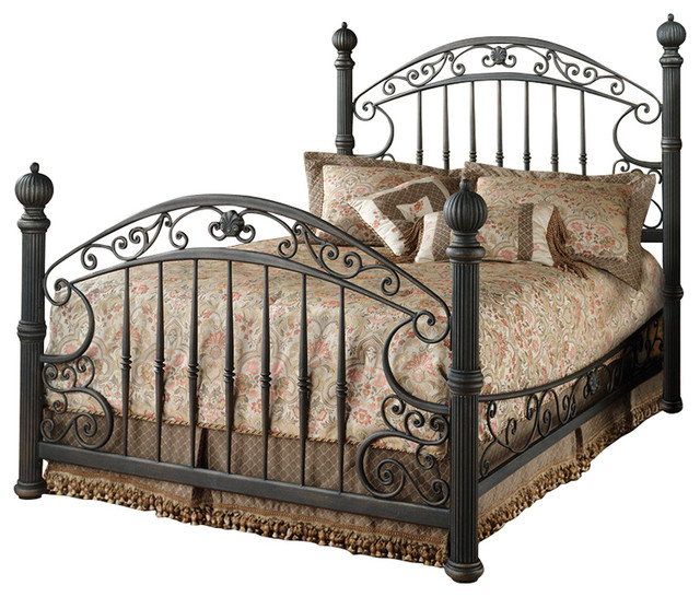 Chesapeake Queen, Bed Set With Rails