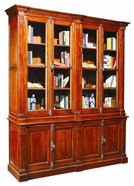 large new bookcase cabinet oak wood computer