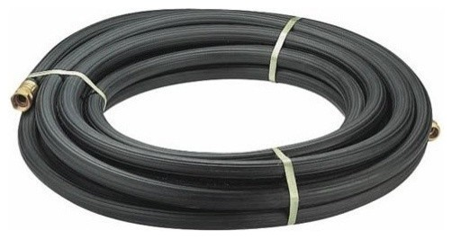 Swan Commercial Duty Premium Rubber 3/4-Inch By 50-Foot Grey Water Hose.