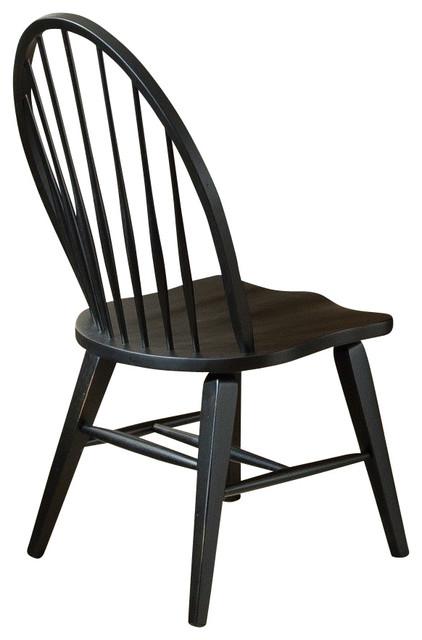 Liberty Furniture Hearthstone Windsor Back Side Chair in
