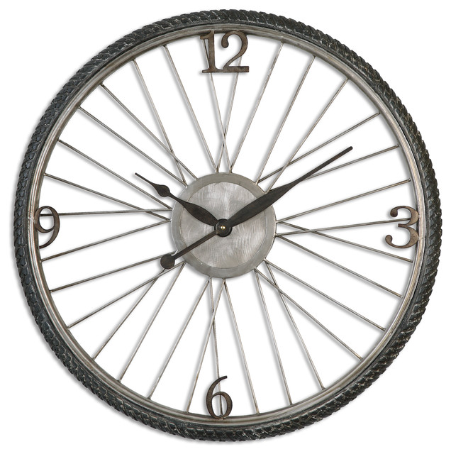 Bicycle Spokes Wall Clock