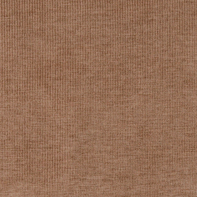 Brown Thin Striped Woven Velvet Upholstery Fabric By The Yard