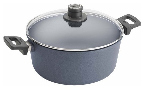 Woll Diamond Plus Induction Stock Pot With Lid, 5.25-Quart.