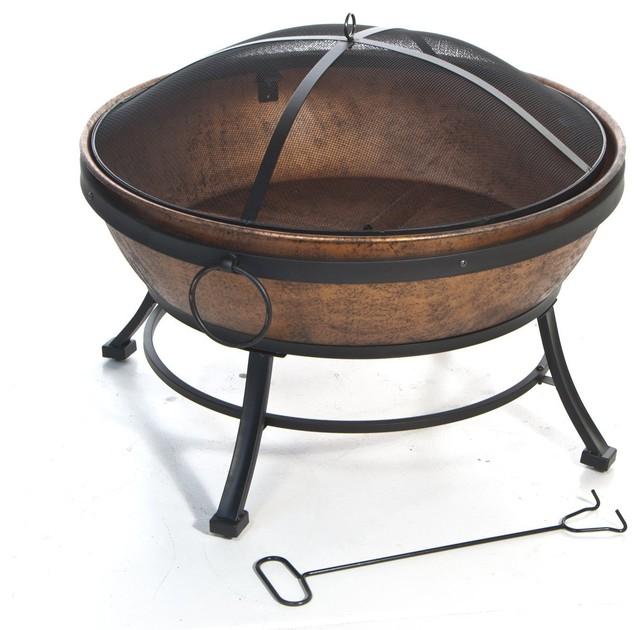 avondale steel fire bowl firepits - Fire Pit Bowl