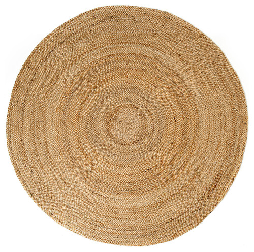 Anji Mountain Jute AMB0328 Kerala Natural Area Rug 4'Round