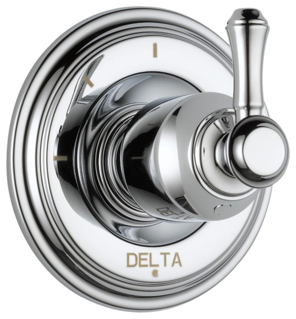 Delta Cassidy Chrome 3 Setting Shower Diverter Includes