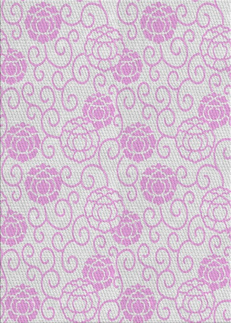 """Patterned 2677 Area Rug, 5'0""""x7'0"""""""